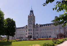 Parliament of Quebec Stock Photography