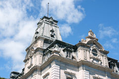 Parliament of Quebec Royalty Free Stock Photo