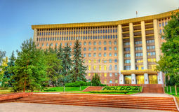 Parliament of the Republic of Moldova Royalty Free Stock Images