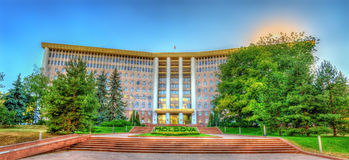 Parliament of the Republic of Moldova Stock Image