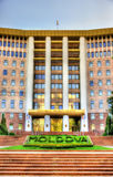 Parliament of the Republic of Moldova Royalty Free Stock Photography