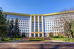 Parliament of the republic of moldova Stock Images