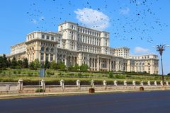 Parliament of Romania Royalty Free Stock Images