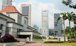 Parliament of Singapore Stock Photography