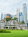 Parliament of Singapore Royalty Free Stock Images