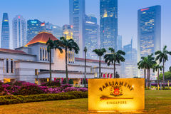 Parliament of Singapore Royalty Free Stock Image