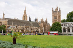 Parliament square. London, England Royalty Free Stock Photo