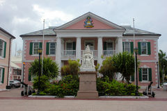 Parliament Square in Nassau, Bahamas. Royalty Free Stock Image