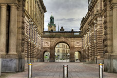 Parliament, Stockholm. Royalty Free Stock Photos