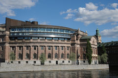 Parliament of Stockholm Stock Images