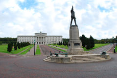Parliament, Stormont, Belfast. Belfast Parliament - it is the Northern Ireland Assembly Stock Photography