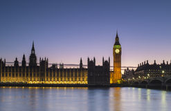 Parliament at Sunset Stock Photography