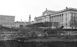Parliament of Sweden Stock Images