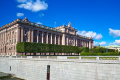 Parliament of Sweden Stock Photos