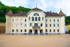 Parliament in Vaduz, Liechtenstein. royalty free stock images