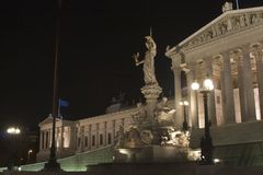 Parliament in vienna Stock Photos