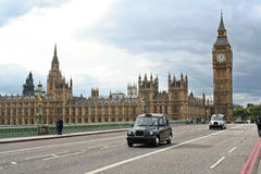 Parliament and westminster bridge Stock Images