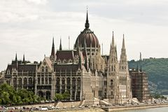 Parliaments building in Budapest Hungary Royalty Free Stock Photography