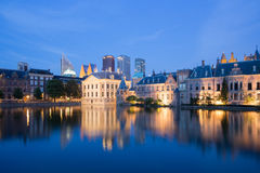 Parlimament and Skyline of The Hague in the Nether Stock Photo