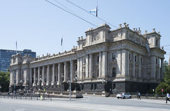 Parliment House, Spring Street, Melbourne, Australia. Stock Image