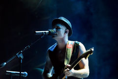The Parlotones - Lead Singer Stock Photography