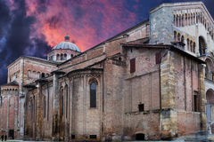 Parma Cathedral, Italy Stock Photo