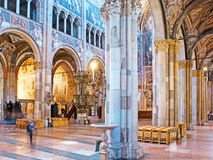 In Parma Cathedral Stock Photo