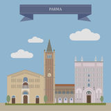 Parma, city in Italy Royalty Free Stock Photos