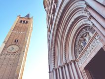Parma& x27; gammal stad för s royaltyfri fotografi