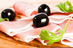 Parma Ham Royalty Free Stock Image