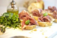 Parma ham Stock Images