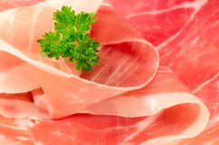Parma ham Royalty Free Stock Images