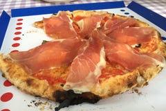 Parma Ham Italian Pizza Stock Photography