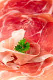 Parma ham. Royalty Free Stock Photo