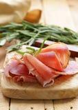 Parma ham (jamon) Royalty Free Stock Image