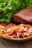Parma ham (jamon) Stock Photos