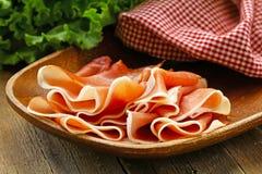 Parma ham (jamon) Stock Image