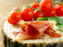 Parma ham (jamon) Royalty Free Stock Photo