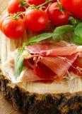 Parma ham (jamon) Royalty Free Stock Photos
