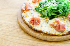Parma ham pizza Stock Photos