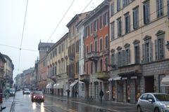 Parma i regnet 02 Arkivbilder