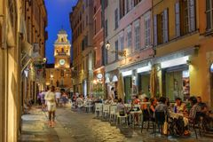 Parma, Italië Stock Foto
