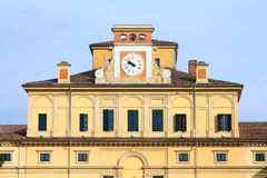 Parma, Italy. Parma in Emilia-Romagna, Italy - old building of Ducal Palace (Palazzo Ducale royalty free stock photography