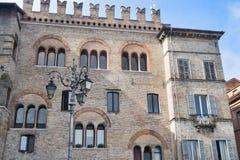 Parma Italy:  Garibaldi square Stock Image