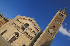 Parma-Kathedrale stockfoto