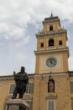 Parma piazza garibaldi zdjęcia royalty free