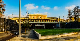 Parma Stazione i Emilia-Romagna, nordliga Italien arkivfoto