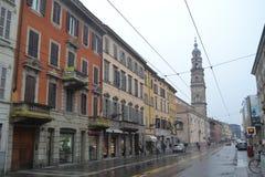 Parma w deszczu 01 Zdjęcia Royalty Free