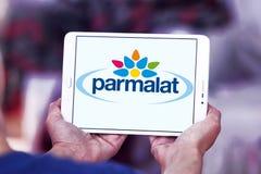Parmalat Food processing company logo. Logo of Parmalat company on samsung tablet. Parmalat SpA is a multinational Italian dairy and food corporation Stock Image