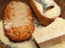 Parmesão-queijo italiano Fotos de Stock
